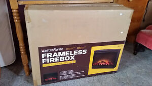 Brand New Electric Fireplace Insert Never Used