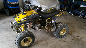 Yamaha 350 warrior for sale with parts bike