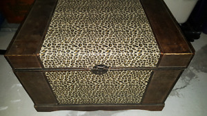 Cheetah print chest