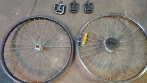 rims and pedals