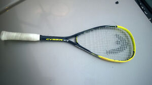 Head Cyber XT squash Racquet  Used but in great shape Good body