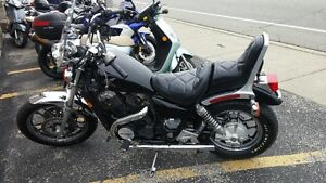 Black Honda Shadow