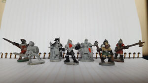 Ral Partha and Grenadier Vintage Dungeons and Dragons Miniatures