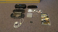 PSP games and accessories