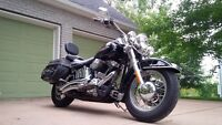 Harley Davidson Heritage Softtail 2007 many extras motorcycle