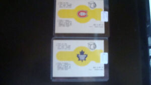 MONTREAL CANADIENS, AND TORONTO MAPLE LEAFS