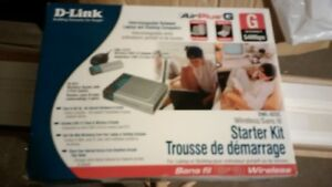 D-Link Wireless Staryer Kit (Router & USB Adapter)