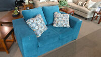 """BLUE"" Loveseat"