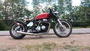 Cb750 custom bobber antique