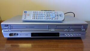 JVC DVD - VHS Combo