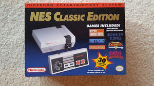 NES Classic Edition NES-SNES-GENESIS-TG16 (GAME LIST IN AD)