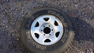 Pneus et roues d'acier tout terrain pour Nissan xterra