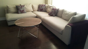 Structube Horizon Sectional Sofa & Coffee Table for only $600