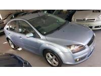 2007 FORD FOCUS TITANIUM Blue Manual Petrol