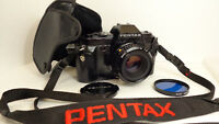 MINT Vintage1985 Pentax P3, 35mm Film Camera W/ SMC-A 1:2 50mm