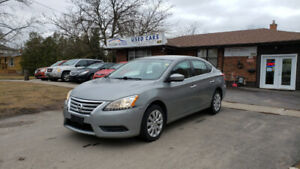 2014 NISSAN SENTRA S, AUTOMATIC, ECO MODE, WITH SAFETY, E-TEST