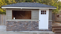 Siding, Soffit, Fascia, Eavestrough, Capping