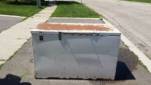 Best offer - Big, old, heavy freezer - still works great!