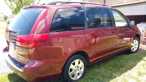 2005 Toyota Sienna Certified Etested timing belt replaced Sedan
