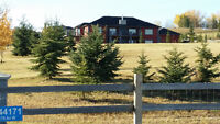ACREAGE WEST OF SPRUCE MEADOWS RENT OR RENT/ OWN