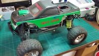 1/8th losi aftershock limited edition Monster Truck