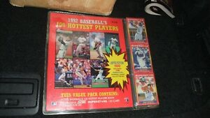 Baseball Cards and Unopened Packs