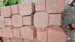 Brick, Interlocking, Red