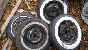 1952 ford steel rims 4 + spare West Island Greater Montréal image 4