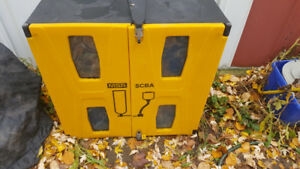 SCBA CABINET AS NEW NEVER USED FITS MSA SCOTT AND OTHER SCBA