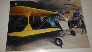 Ultralight aircraft/airplane biplane WINGS ONLY