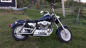Harley Davidson XLH88, 1993, Custom, imitation Fat Boy