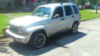 "2005 Jeep Liberty trail edition on 19"" adr design rims 1600"