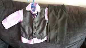 Boys 3-6 month suit(smoke free home )