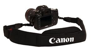 Canon padded neck strap