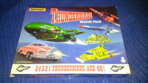 THUNDERBIRDS Rescue Pack made by Matchbox, figures, aircraft etc
