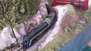 Collection 4 Sale HO Trains w/ layout