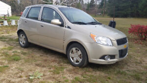 2009 Chevy Aveo5 LT(hatchback) – For parts