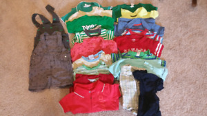 Boys 12-month t-shirt lot