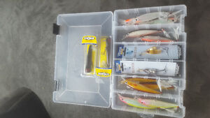 Brand new. Assorted fishing lures.