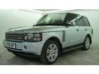 2008 Land Rover Range Rover TDV8 VOGUE Diesel silver Automatic