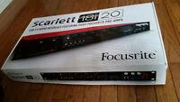 *Brand new* Focusrite Scarlett 18i20 USB 2.0 Audio Interface