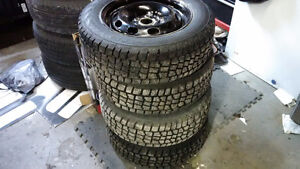 VW Jetta 195/65R15 Winter Tires and Rims