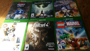 6 XBOX ONE GAMES FOR SALE. ALL IN GREAT CONDITION