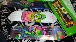 Santa Cruz Mars Attacks Skateboard decks