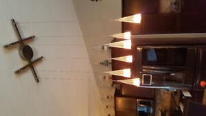 Beautiful kitchen lighting package.