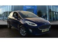 2018 Ford Fiesta 1.1 Zetec 3dr With Air Conditioning Manual Hatchback Petrol Man