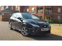 Seat Ibiza 1.4 16v 2009 Sport Black++Full Service History+Low Mileage+1 Owner