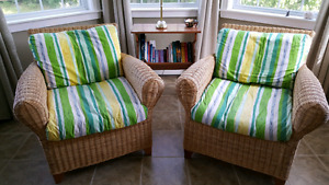 Quality wicker chairs