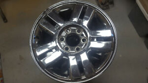2007 f150 oem 18 inch chrome rims