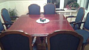 table Antique 8 a 20 places